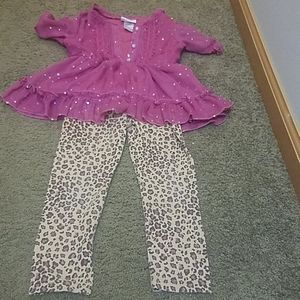 Girls 4t sparkle outfit